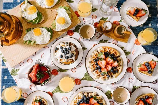 Desayunos a domicilio en Barcelona
