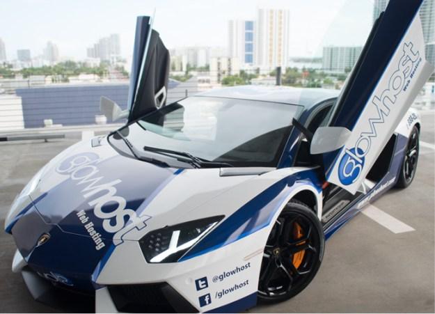 GlowHost Lamborghini