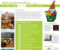 Screenshot www.meine-landwirtschaft.de