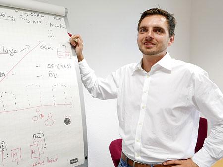 Damian Pilka, GLS Vermögensmanagement