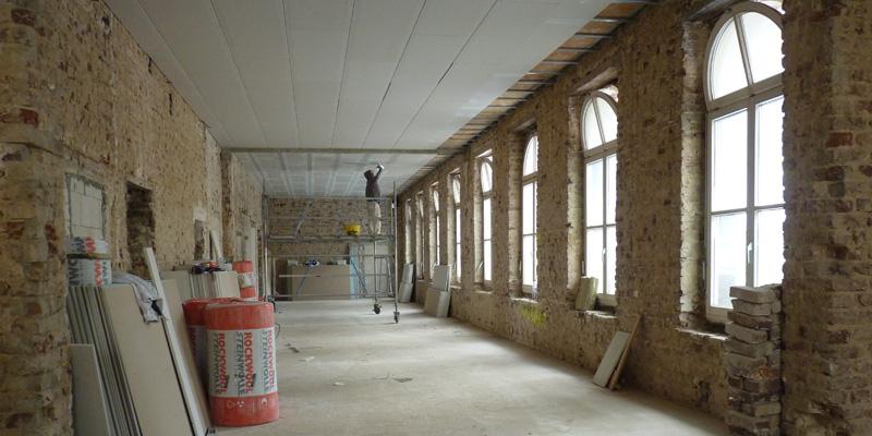 """Wohnen in der Samtweberei: Renovierung des """"Denkmals"""""""