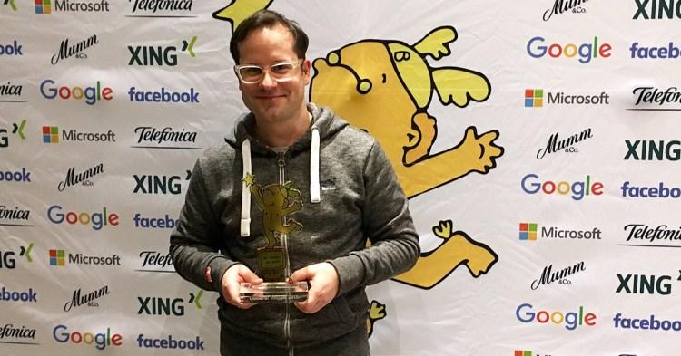 GLS Blog gewinnt Die Goldenen Blogger Award 2016