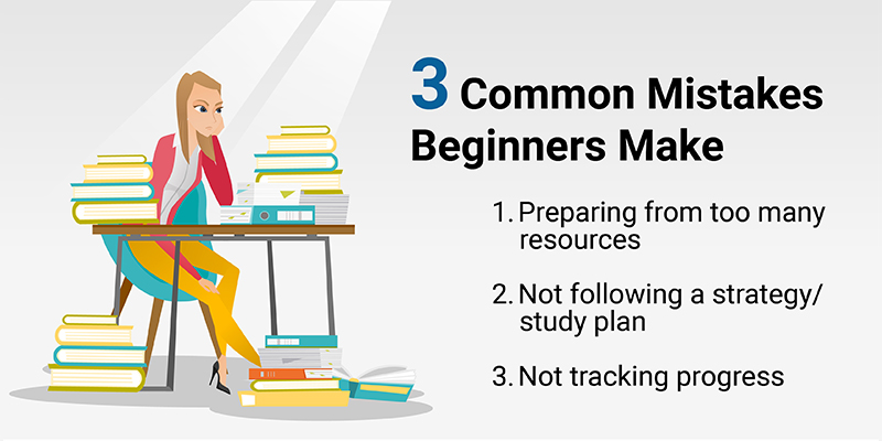 Common mistakes beginners make when preparing for GMAT