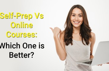 Self-Prep Vs. Online Course – Which one is better?