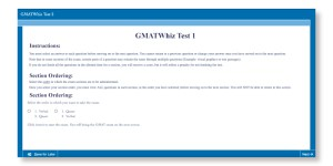 GMAT-styled practice mock tests