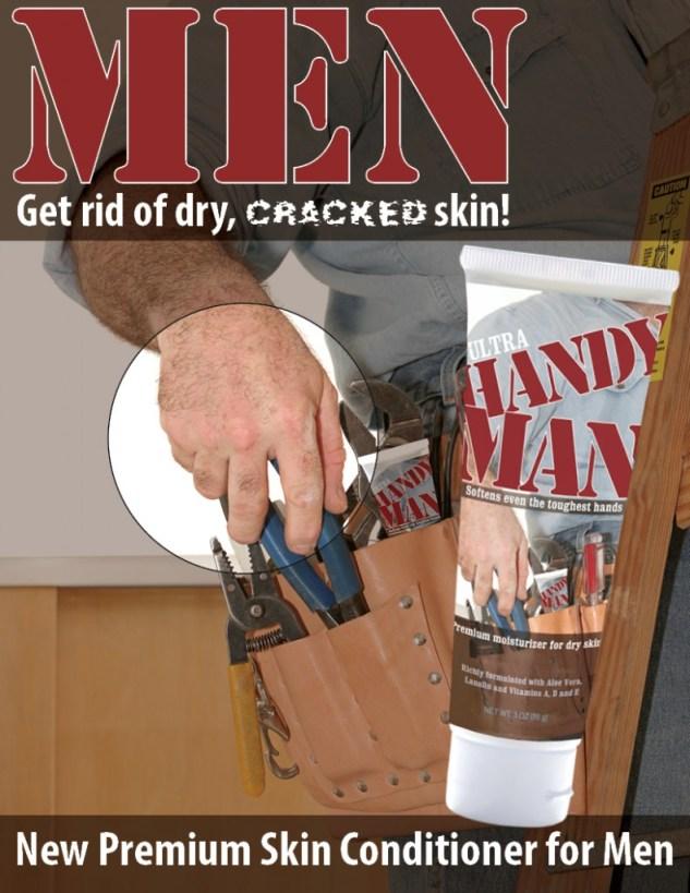 A Handy Man counter display