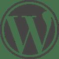 Wordpress Logo -  Quelle : http://wordpress.org/about/logos/