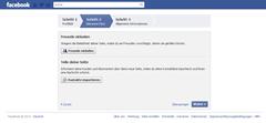 Facebook - Schritt 2 - Quelle: www.facebook.com/getting_started