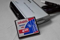 4GB Compact Flash für die Sigma SD10 3