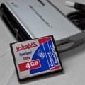 4GB Compact Flash für die Sigma SD10 2