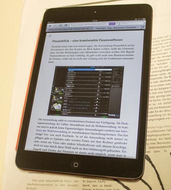 Die Readerfunktionen von iPad und iPhone überall nutzen? 6