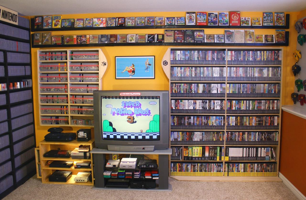 Over 5,700 Video Game Collection Hits eBay!