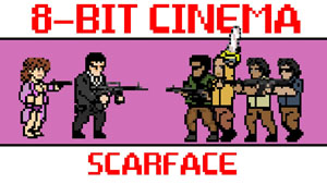 Scarface – Re-created as an 8-Bit Shooting Game