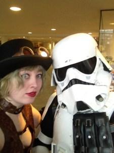 Trooper and I