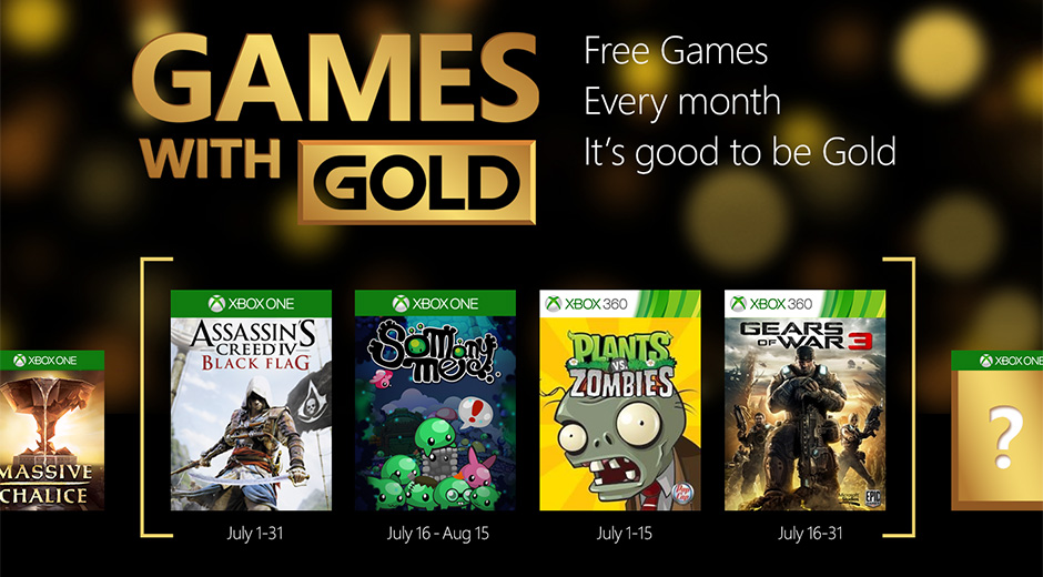 Xbox Gold Free Games Revealed For July