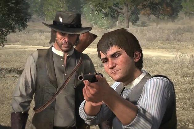 John & Jack Marston Red Dead Redemption