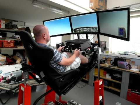 The Racing Simulator – Costs More Than A Car But You'll Still Want One!
