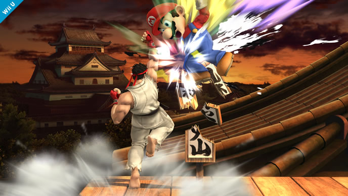 Ryu Coming To Super Smash Bros!