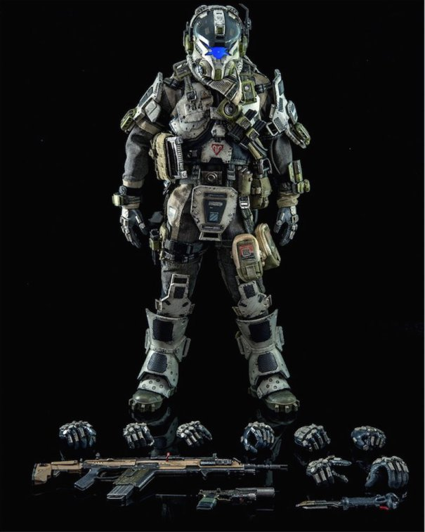 ThreeZero-Titanfall-IMC-Battle-Rifle-Pilot-with-guns