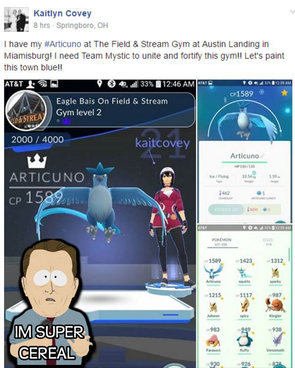 Pokemon Go available on all app stores and Android