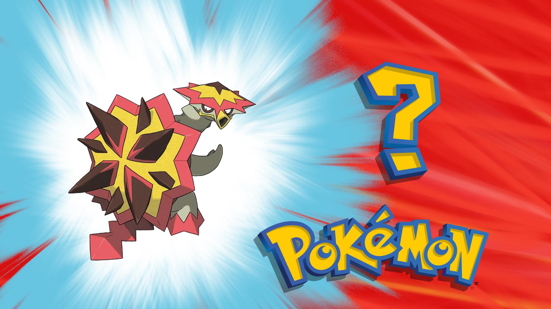 POKEMON SUN/MOON'S: Newest Fire-Type, Turtonator!
