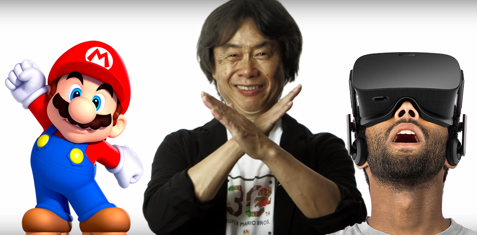 Shigeru Miyamoto Thinks VR 'Doesn't Really Fit' Mario.