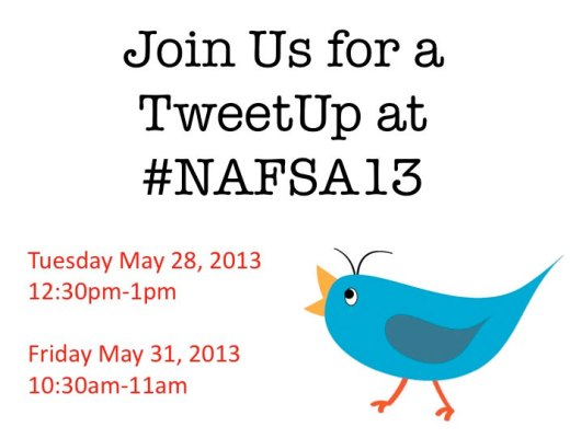 NAFSA 2013 #TweetIEs