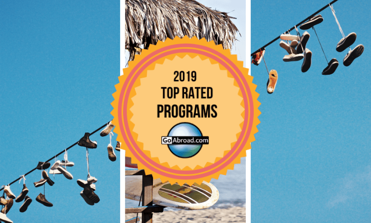 GoAbroad.com Top Rated Programs 2019