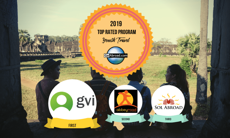 GoAbroad Top Rated Youth Travel Program 2019