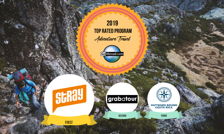 GoAbroad Top Rated Adventure Travel Program 2019