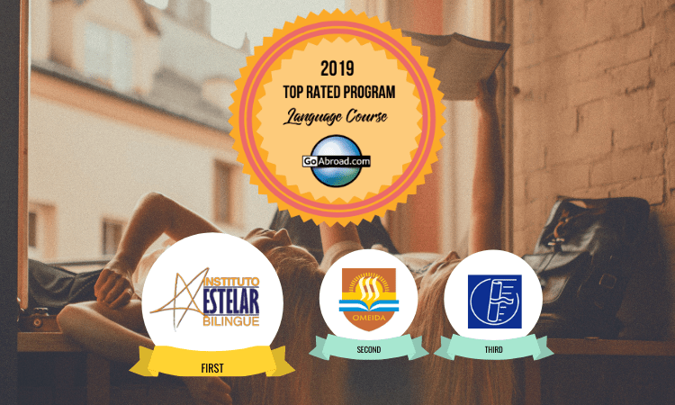 GoAbroad Top Rated Language Course 2019