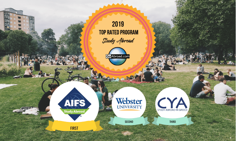 GoAbroad Top Rated Study Abroad Programs 2019