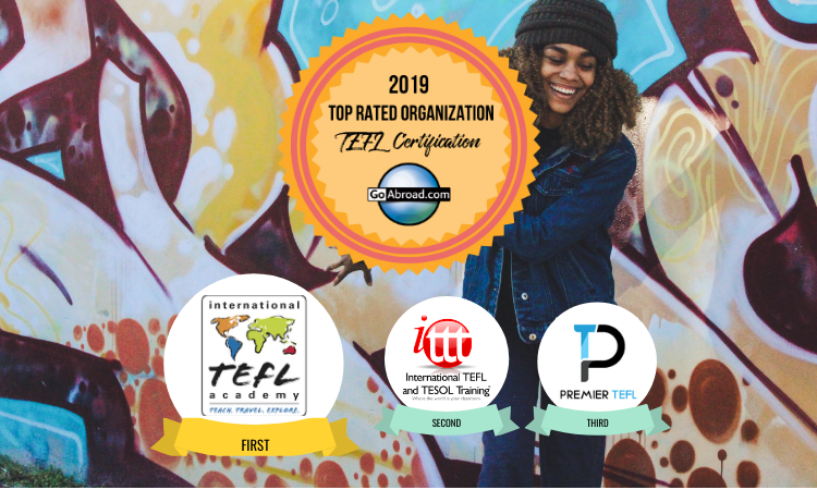 GoAbroad Top Rated TEFL Certification Organizations 2019