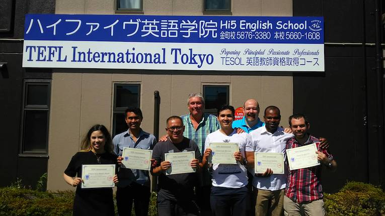 itt tefl japan program participants