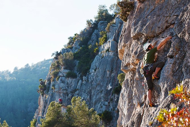 Rocking climbing is one of the best things to do in Barcelona if you're looking for a unique activity.