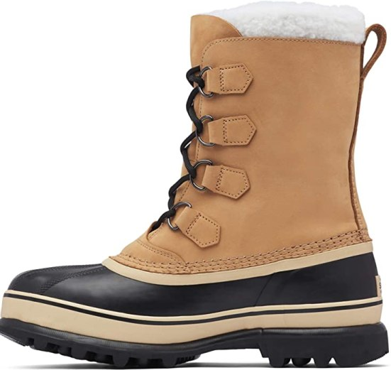 Sorel Caribou winter hiking boots.