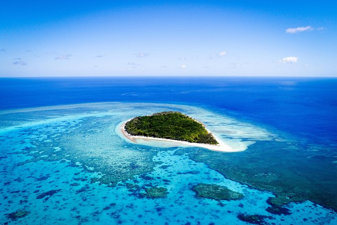 Aerial photo of Lady Musgrave Island.