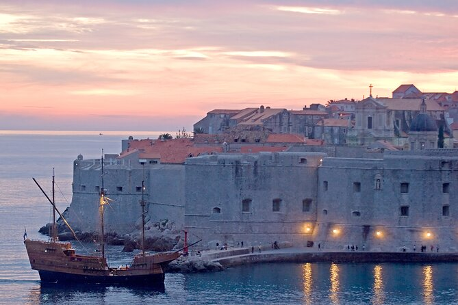Tall ship sailing cruise in Dubrovnik.