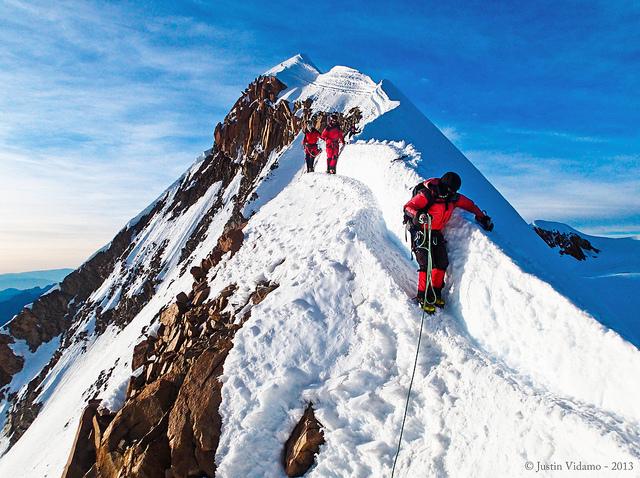 Mt. Huayna Potosi by Justin Vidamo under CC license