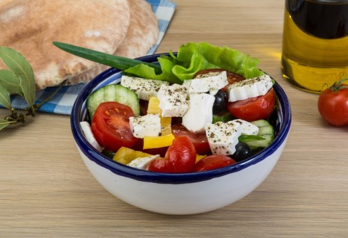 A mediterranean diet helps you find the right balance betweek acid and alcaline food