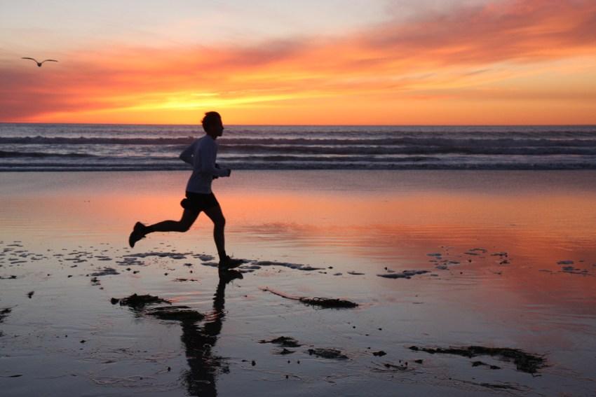 Running from the Sun