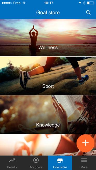 app to track goals