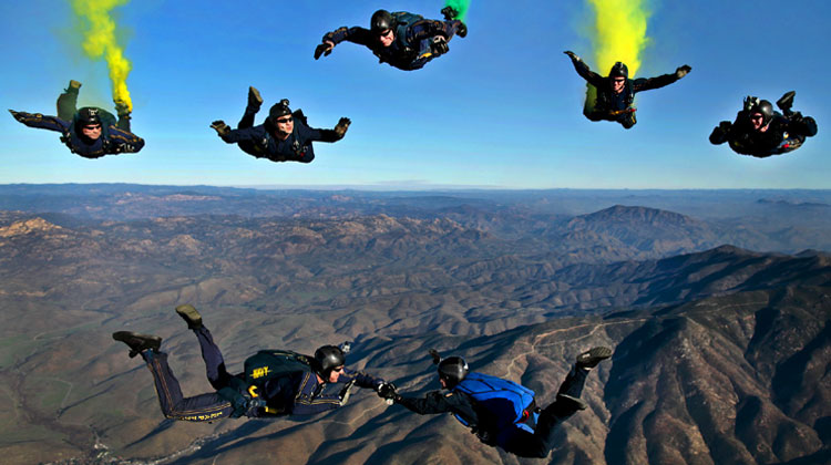 7-sky-divers atteindre ses objectifs