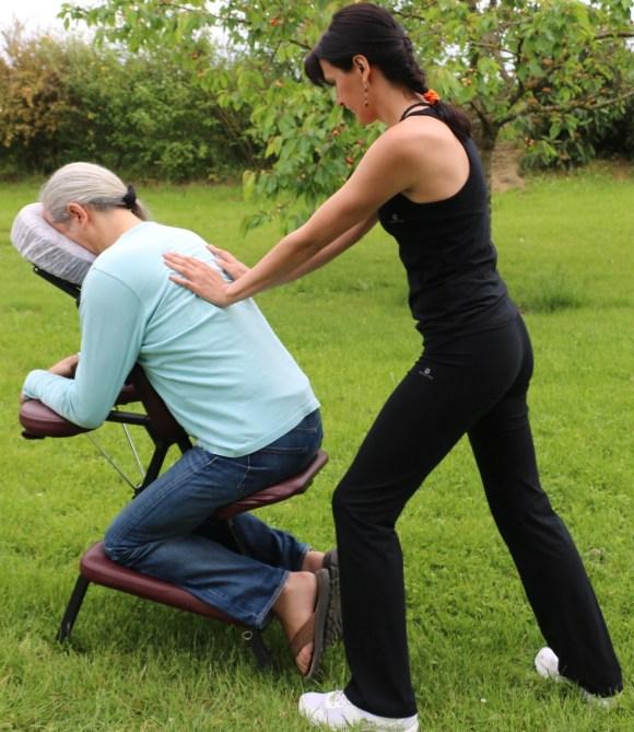 Massage amma en entreprise
