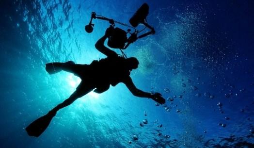 individu faisant de la plongée sous-marine goal mapping