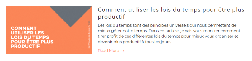 Image blog Productif Au Quotidien