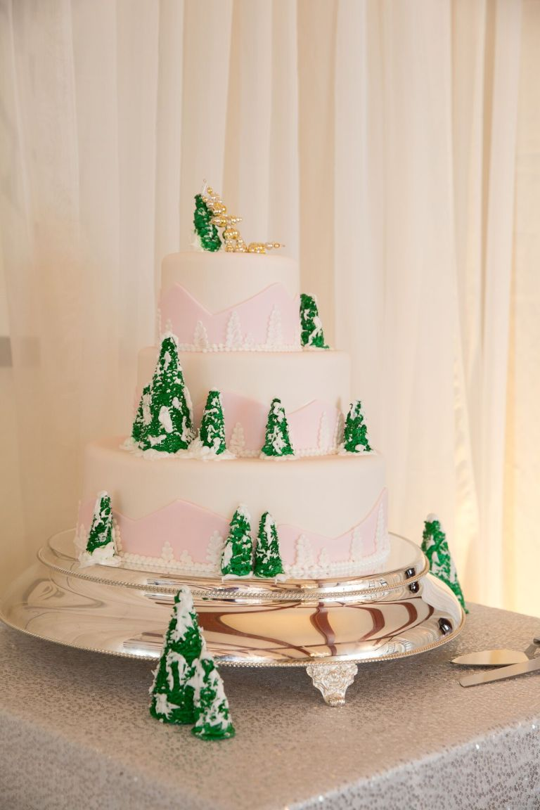 snowy-winter-wedding-ideas-cake