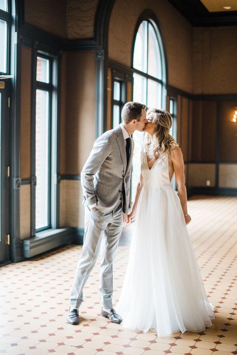 010-Labarte-wedding-Aspen-bride-groom-kiss