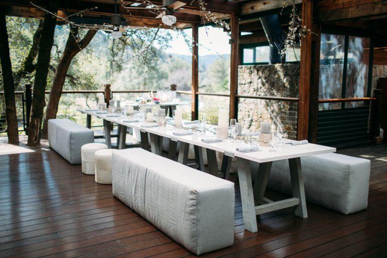Calistoga Ranch luncheon