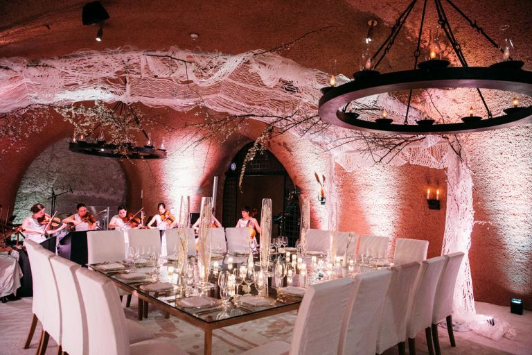 Calistoga Ranch Wine Cave Venue